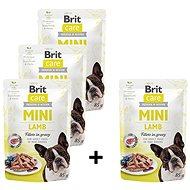 Brit Care Mini Lamb Fillets in Gravy 4 × 85 g