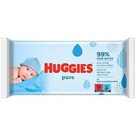 HUGGIES Pure 56 ks - Dětské vlhčené ubrousky