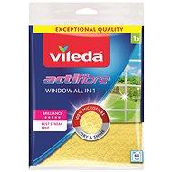 VILEDA Actifibre mikrohadřík na okna 1 ks (32x36cm) - Hadřík