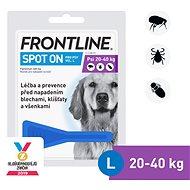 Frontline spot - on pro psy L (20 - 40 kg) - Příspěvěk pro útulek