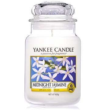 YANKEE CANDLE Classic velký Midnight Jasmine 623 g