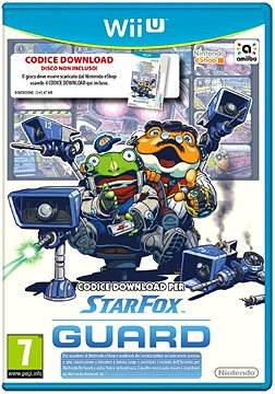 Nintendo Wii U - Starfox Guard (pouze kod ke stažení)