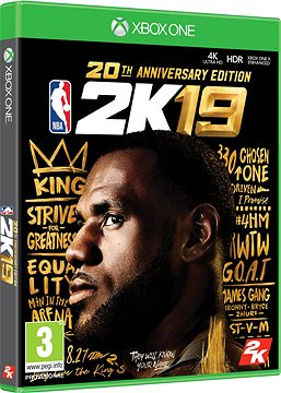 NBA 2K19 - 20th Anniversary Edition - Xbox One
