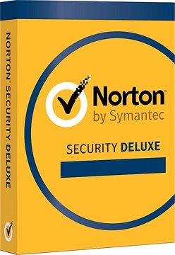 Symantec Norton Security Deluxe 3.0 CZ, 1 uživatel, 3 zařízení, 12 měsíců (elektronická licence)