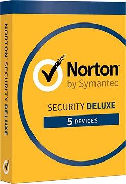 Symantec Norton Security Deluxe 3.0 CZ, 1 uživatel, 5 zařízení, 12 měsíců (elektronická licence)