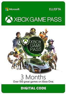 Xbox Game Pass - 3 měsíční předplatné (nutnost aktivace do 10.05.2019)