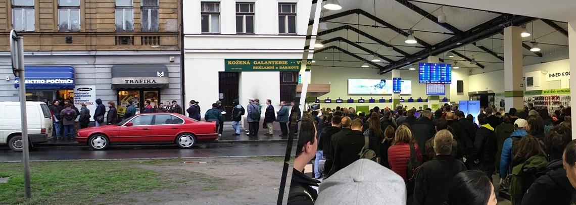 fotografie Alza.cz tehdy vs. nyní
