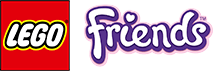logo LEGO Friends