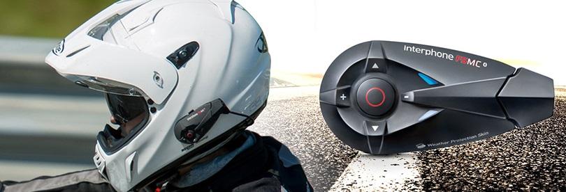 Povedený komunikátor pro motorkáře