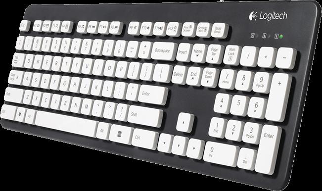 Test - Logitech Washable Keyboard K310