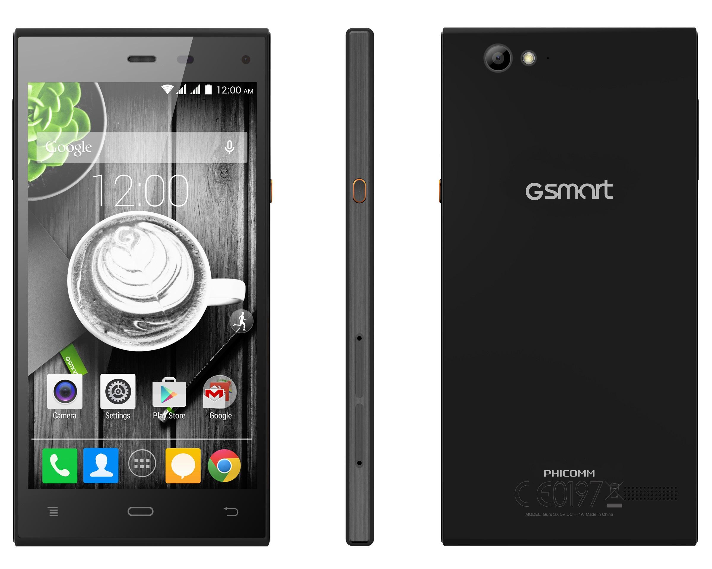 GIGABYTE GSmart Guru GX Black Dual SIM