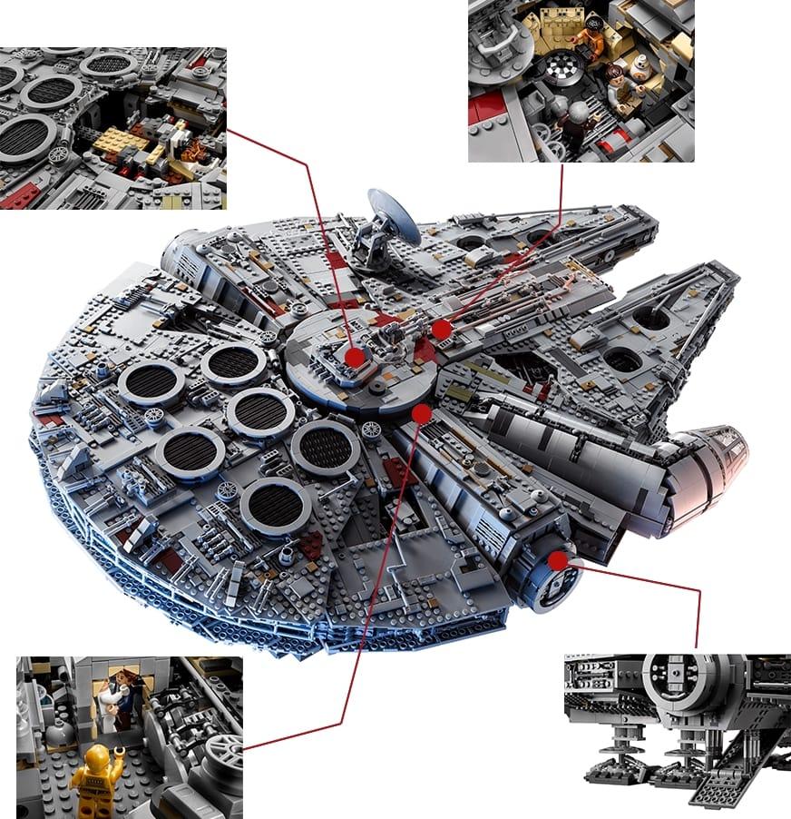 Millennium Falcon od LEGO® Star Wars
