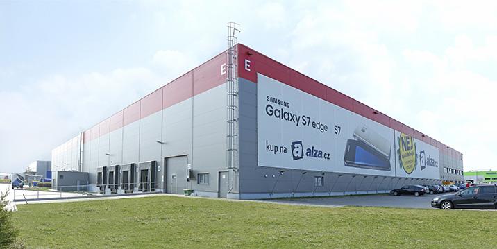 Logistické centrum Praha - Horní Počernice