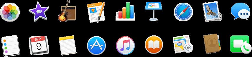 Mac - aplikace