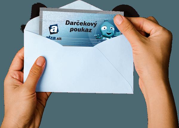 3f879365d Darčekový poukaz Alza.sk v obálke