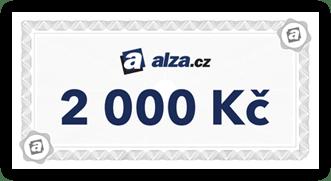 alza.cz voucher 2000 Kc