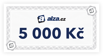 alza.cz voucher 5000 Kc