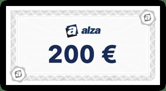 alza.sk voucher 200 Eur