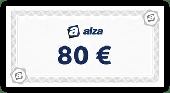 alza.sk voucher 80 Eur