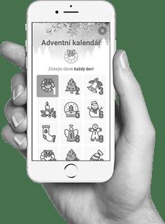 aplikace Adventní kalendář
