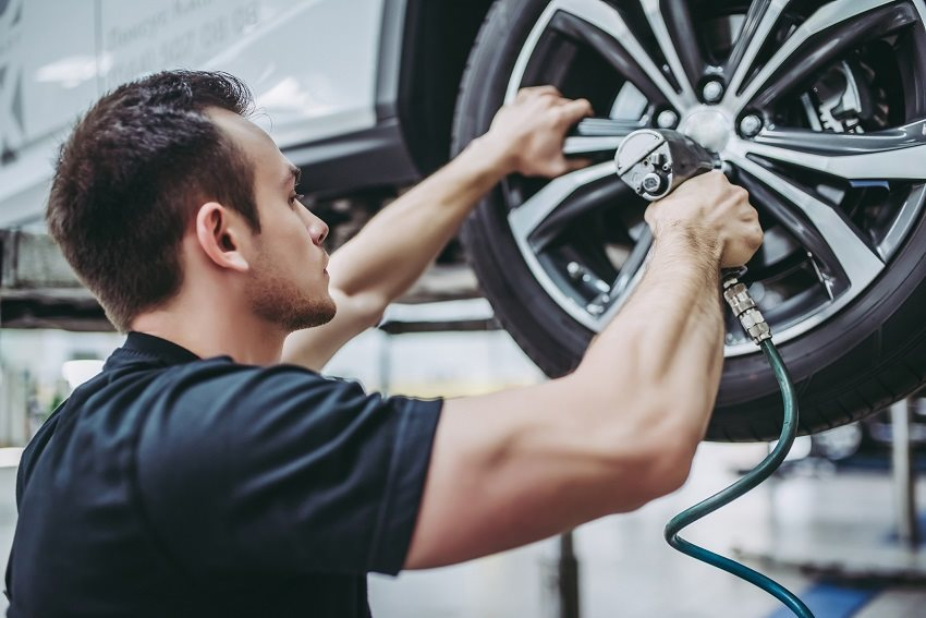 Přezutí pneumatiky