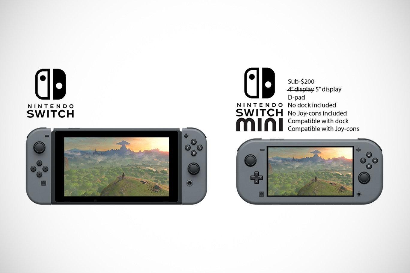 Nintendo Switch; screenshot: koncept pro-lite