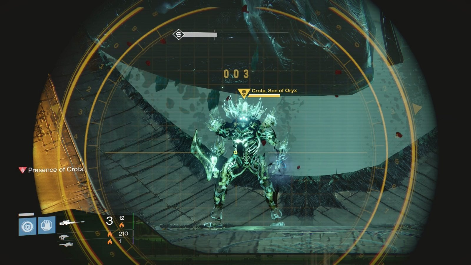 Destiny 2; screenshot: Crota