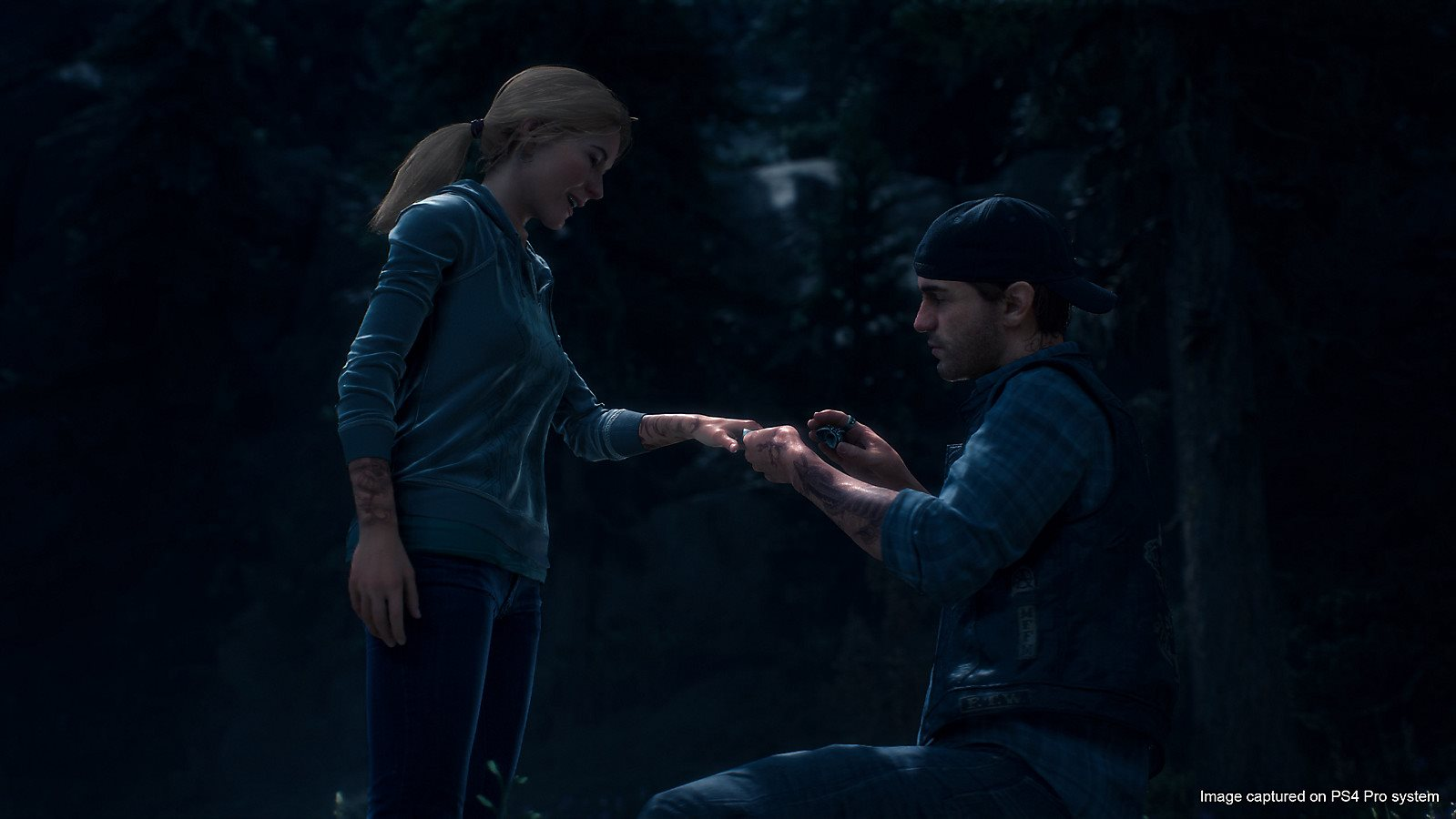 Days Gone; screenshot, wedding