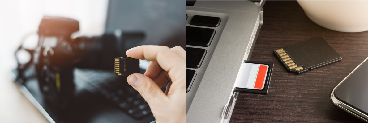 SD karta připojení pro ipad