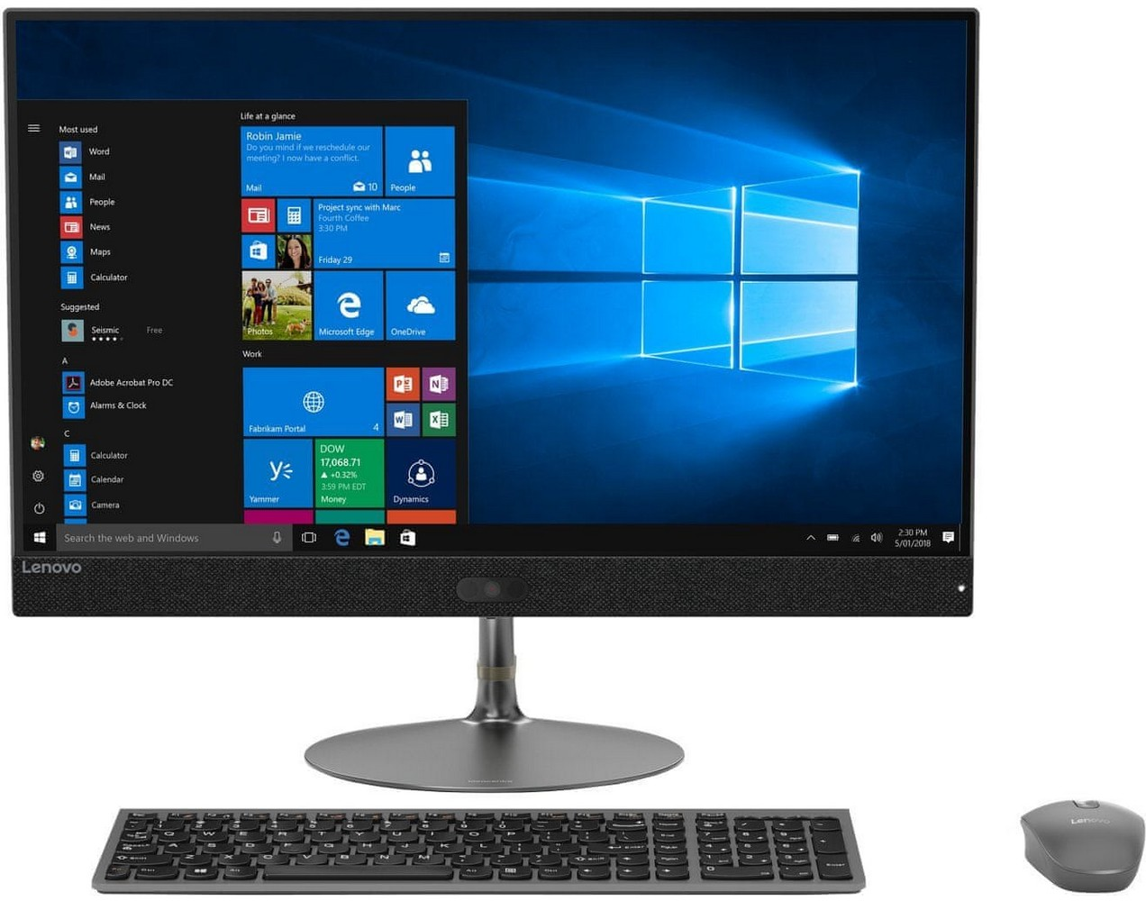 Lenovo IdeaCentre 730S, all-in-one počítač
