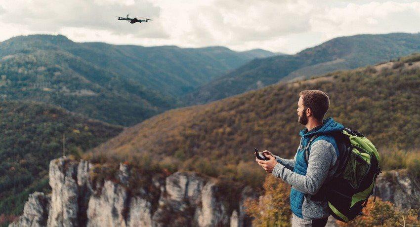 Jak létat s dronem, počasí