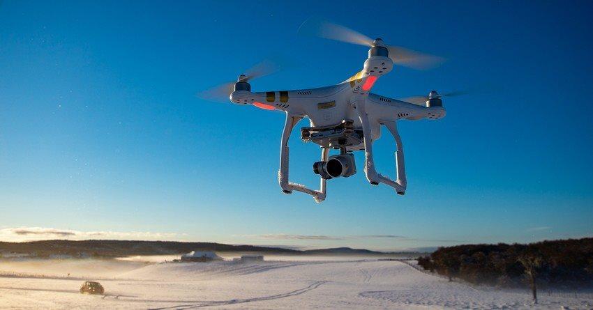Jak létat s dronem, zima