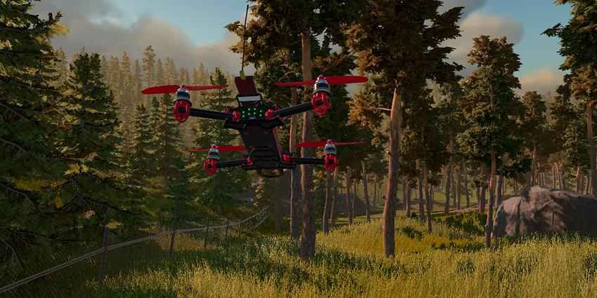 Dron simulátor