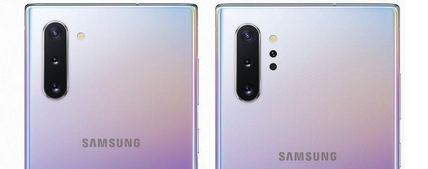 Samsung Galaxy Note10, fotoaparát