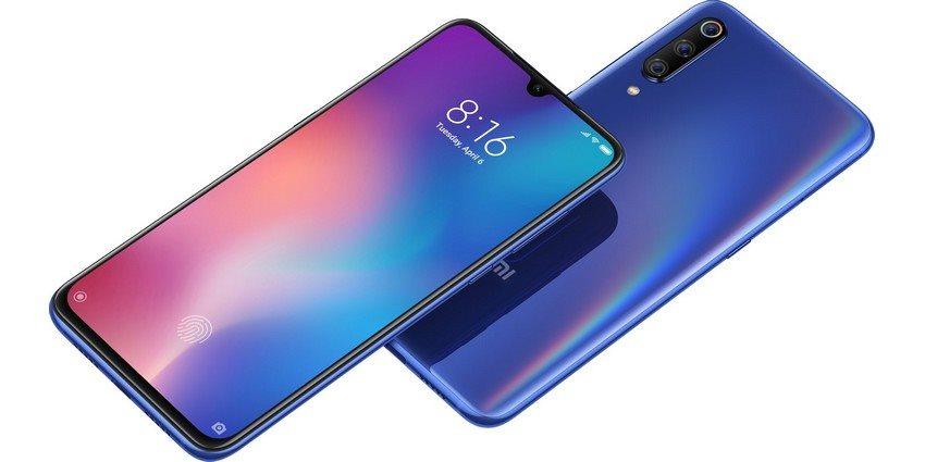 Xiaomi Mi 9, displej