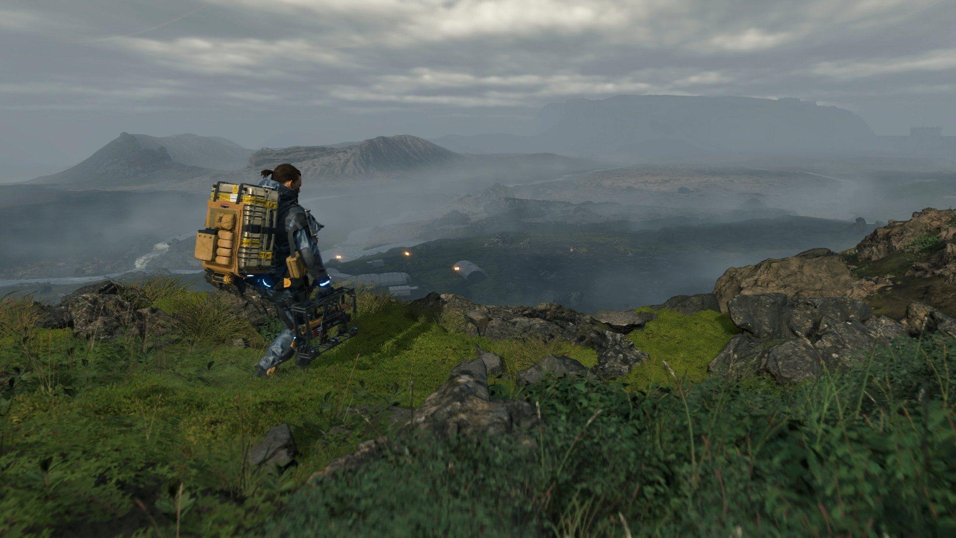 Death Stranding; screenshot: otevřený svět