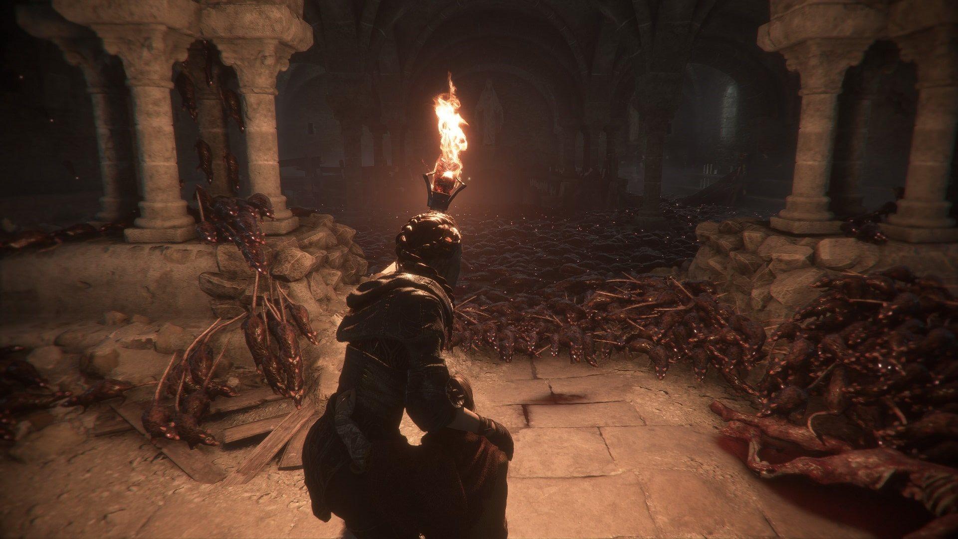 A Plague Tale: Innocence; screenshot: gameplay