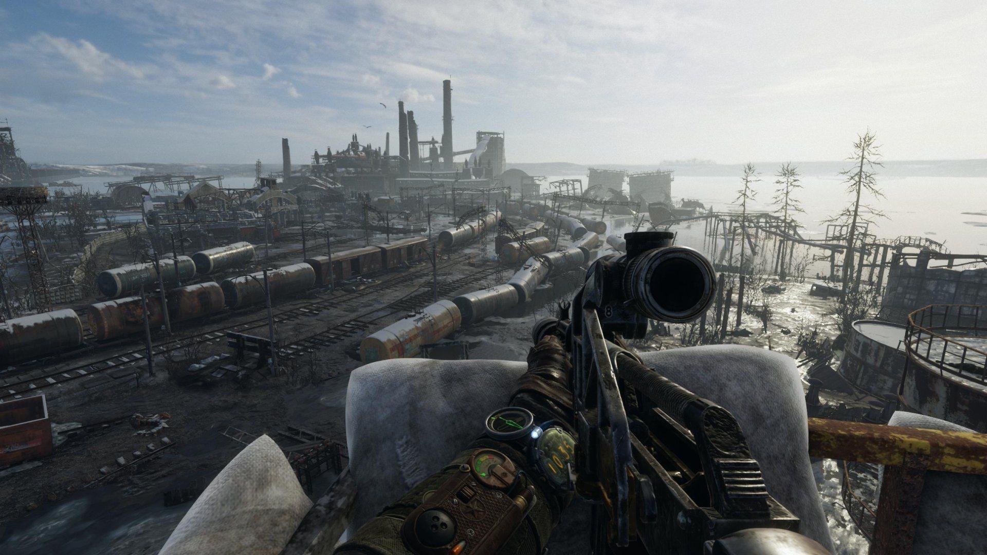 Metro Exodus; screenshot: gameplay