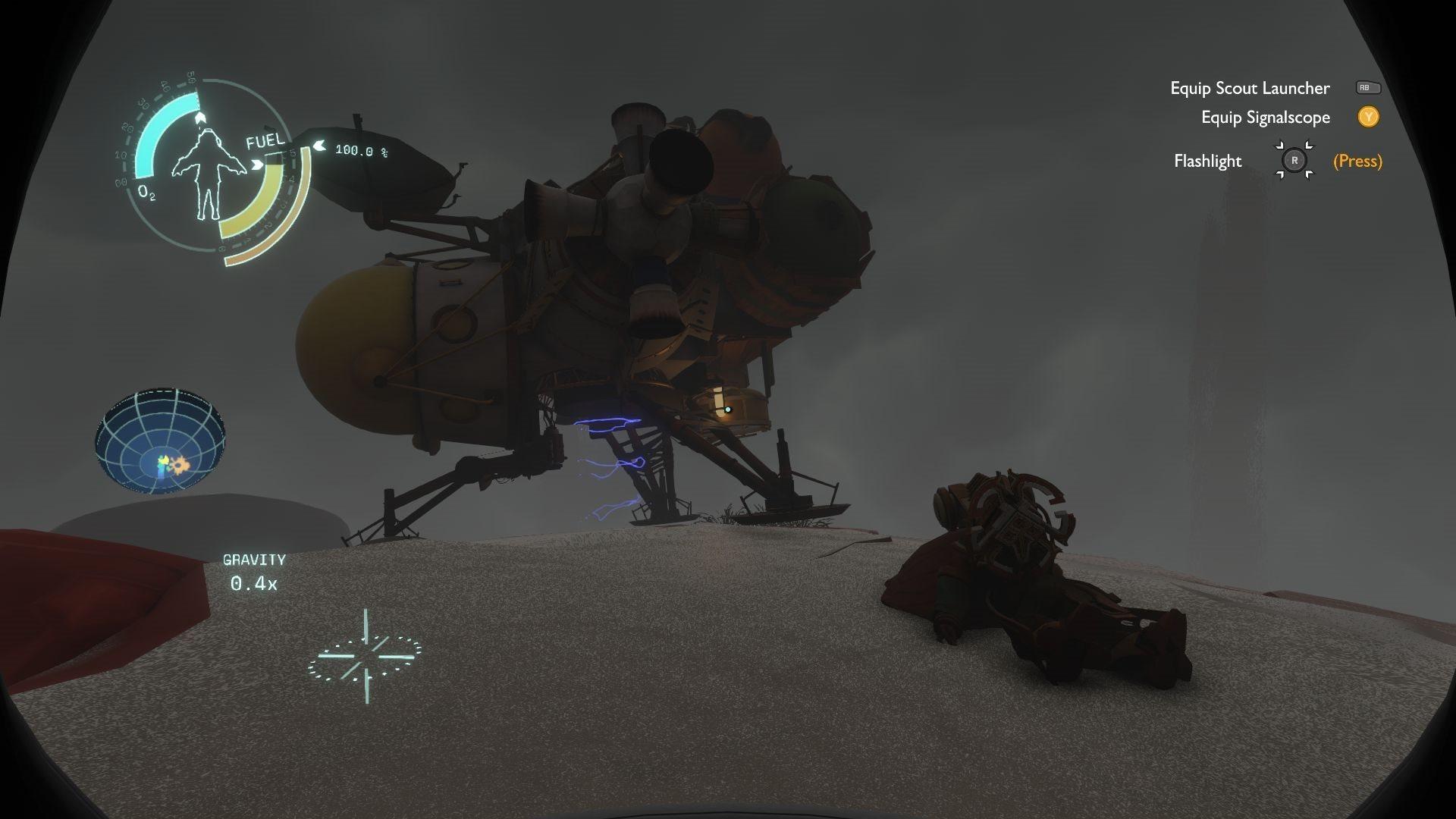 Outer Wilds; screenshot: gameplay