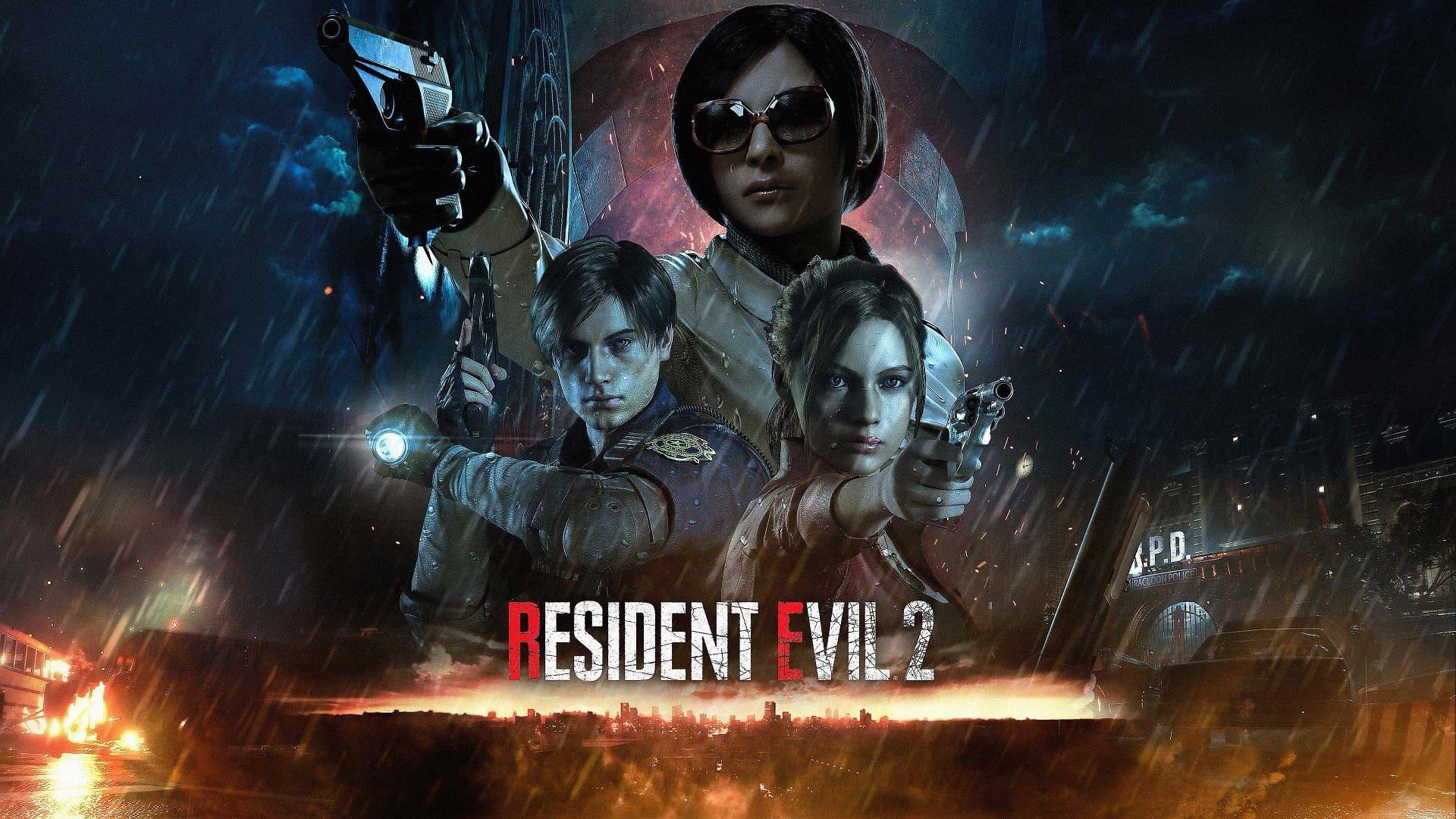 Resident Evil 2; screenshot: wallpaper
