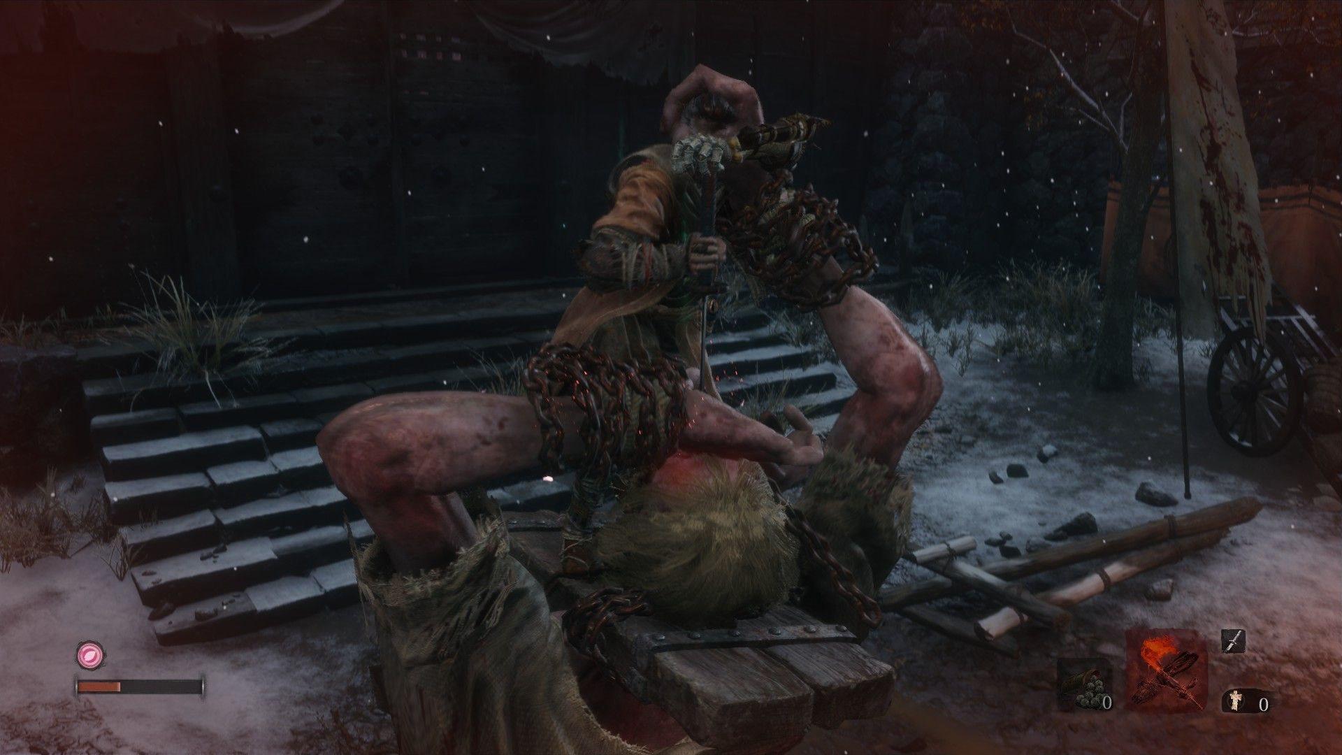Sekiro: Shadows Die Twice; screenshot: gameplay
