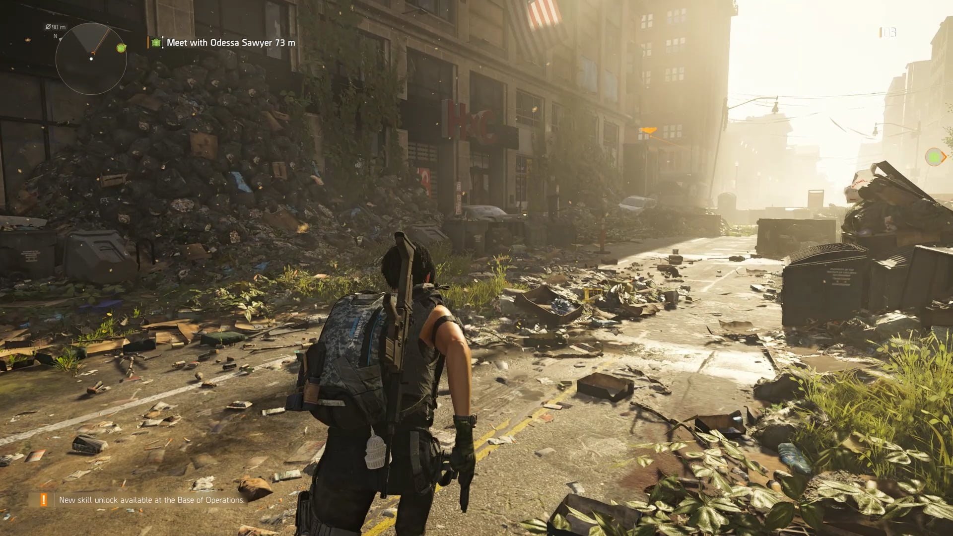 Tom Clancy's The Divison 2; screenshot: gameplay