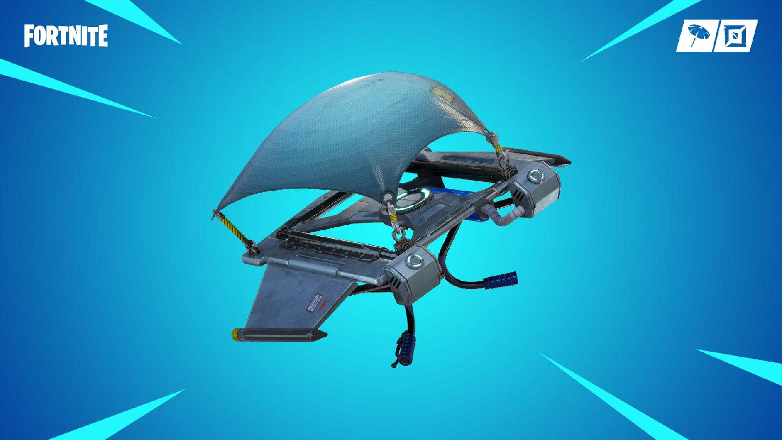 Fortnite; screenshot: glider