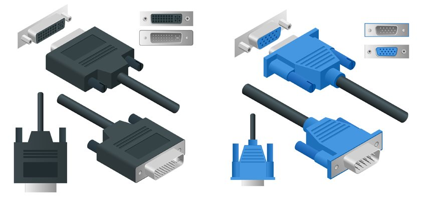 Srovnání: DVI vs VGA