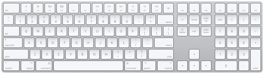 Speciální znaky na klávesnici přehledně