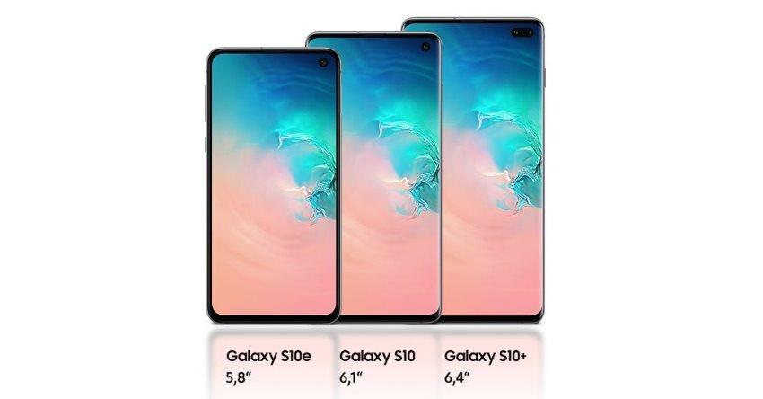 Samsung Galaxy S10 vs S10+ a S10e