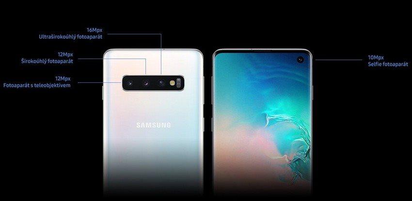 Samsung Galaxy S10, fotoaparát