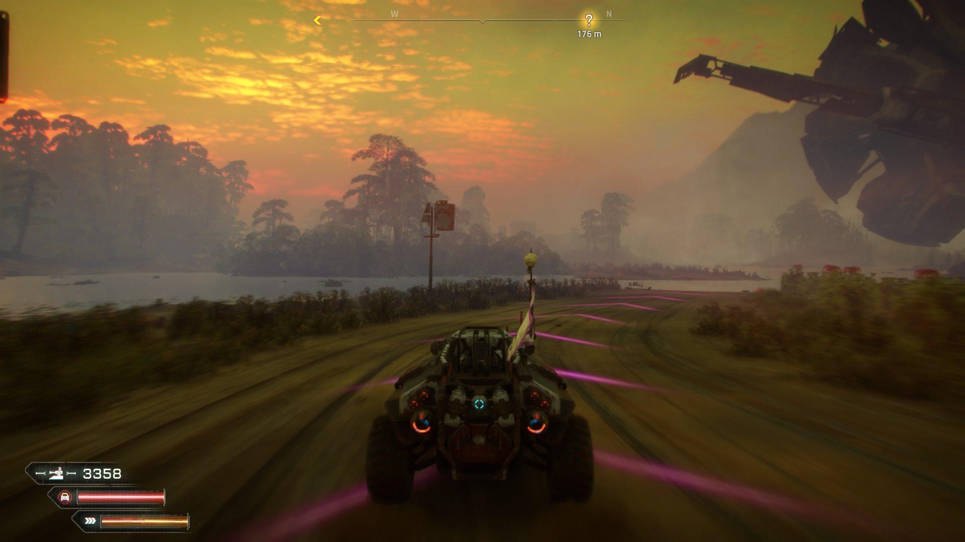 Rage 2; gameplay: západ slunce