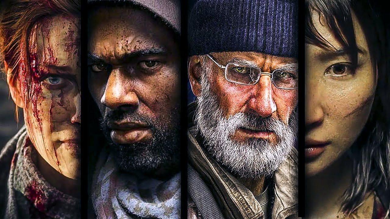 Overkill's The Walking Dead; screenshot: hrdinové