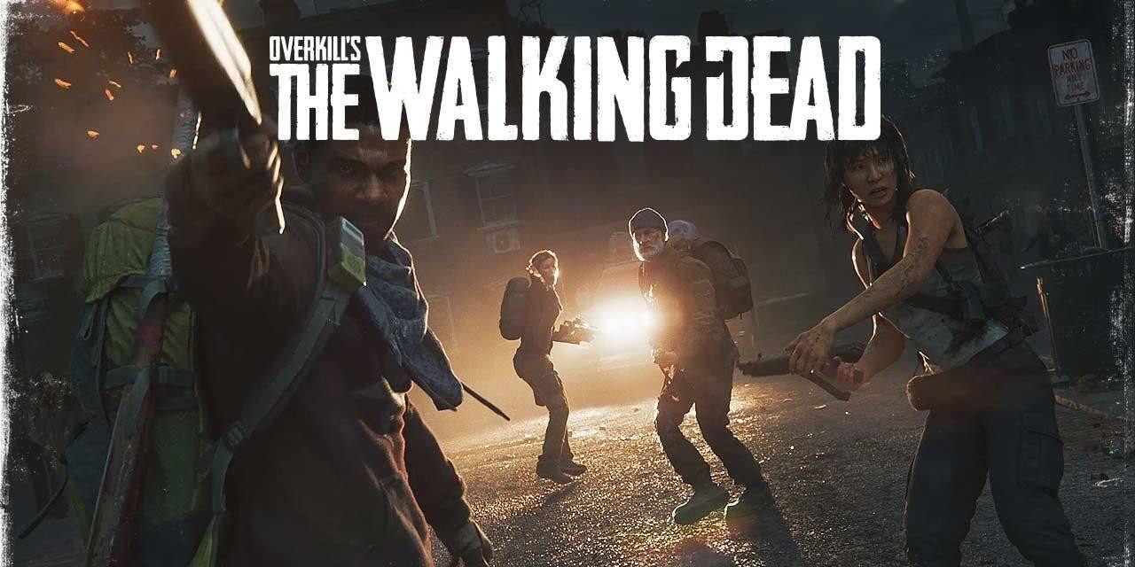 Overkill's The Walking Dead; screenshot: logo, obal